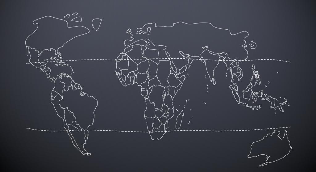 24grad Weltkarte