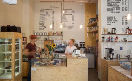 Ladencafé und Rösterei