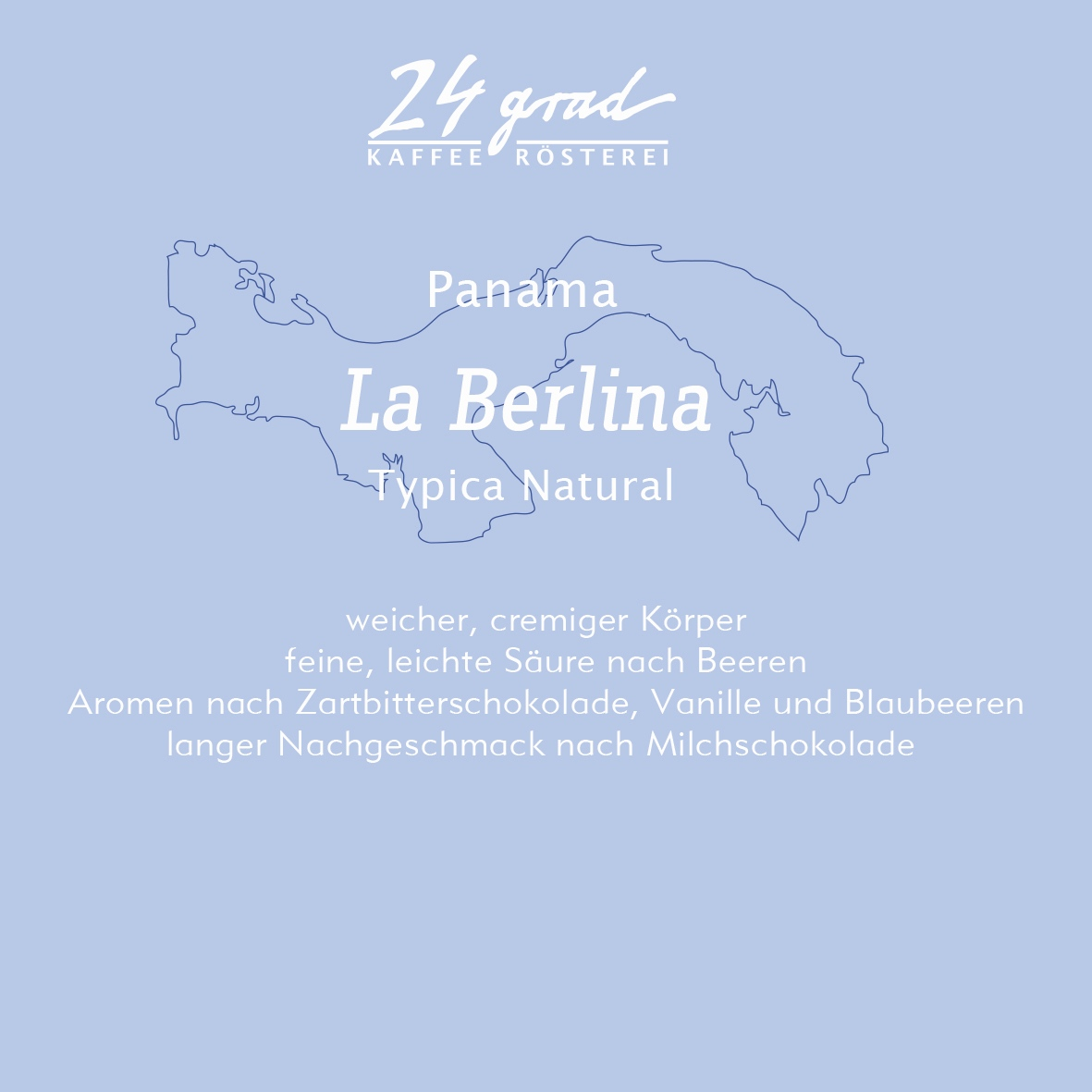 Panama La Berlina Typica Natural
