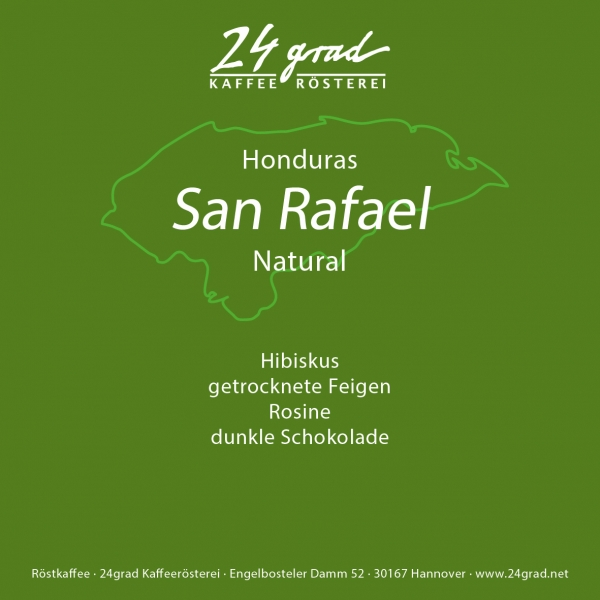 Honduras San Rafael Natural