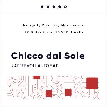 Chicco dal Sole- Kaffeevollautomat-Blend